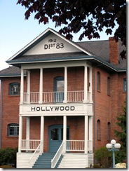 hollywood hill school house