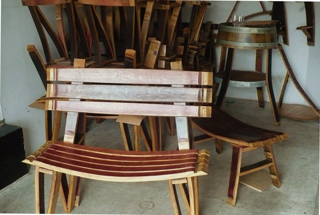 Bottom Of The Barrel Co Wine Barrel Furniture Nw Wine Real Estate