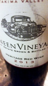 Dineen Vineyards Heritage Red 1